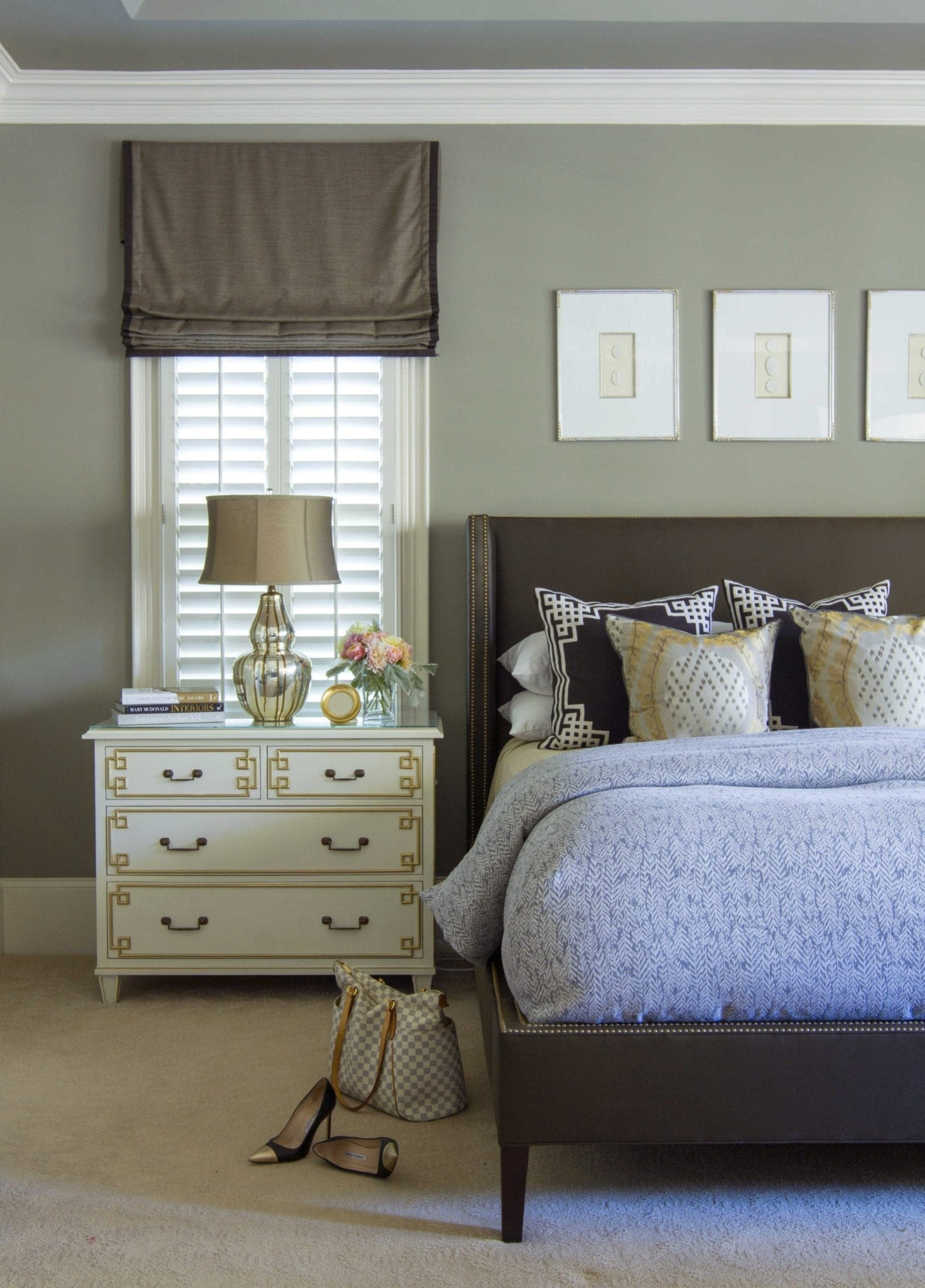 See It On Walls Pictures Of Benjamin Moore Classic Gray