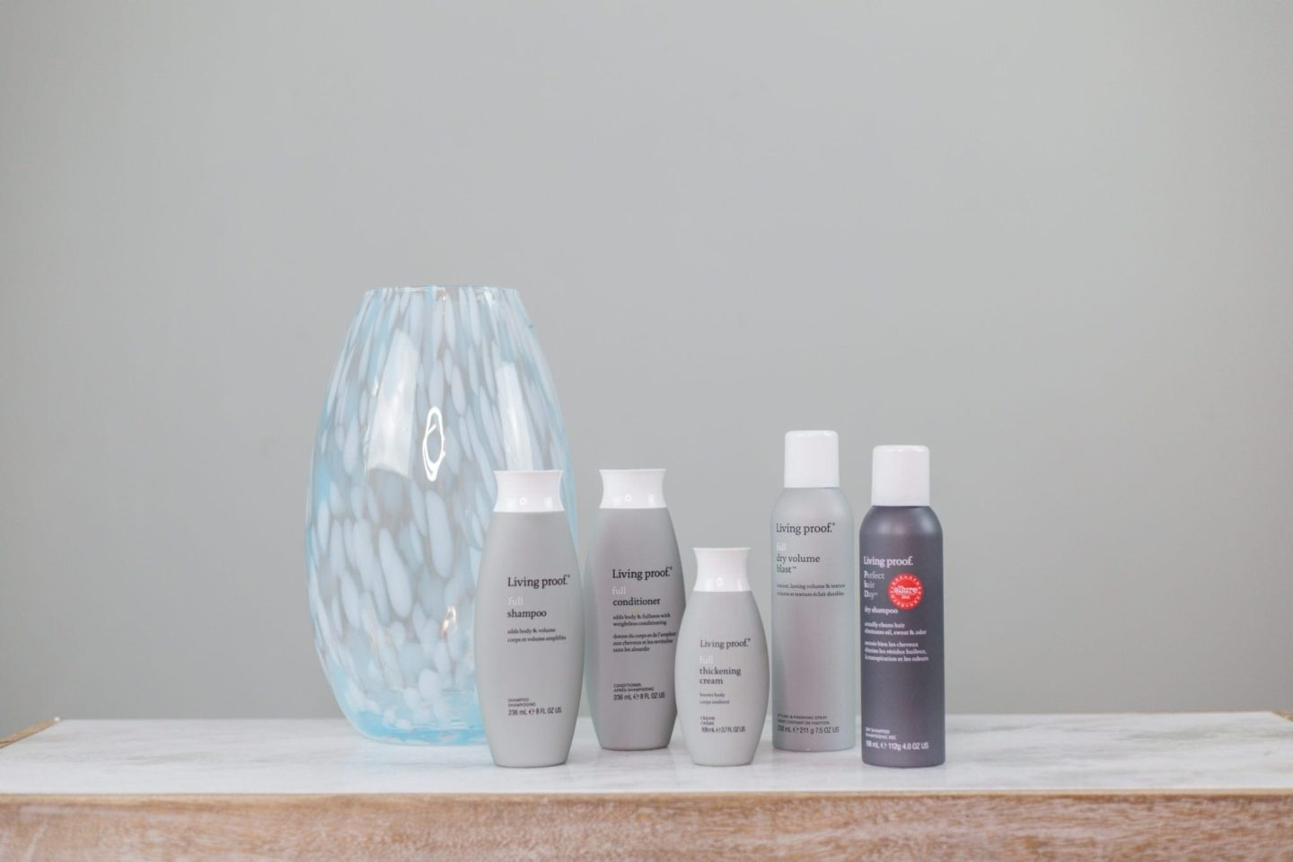 living proof hair care line