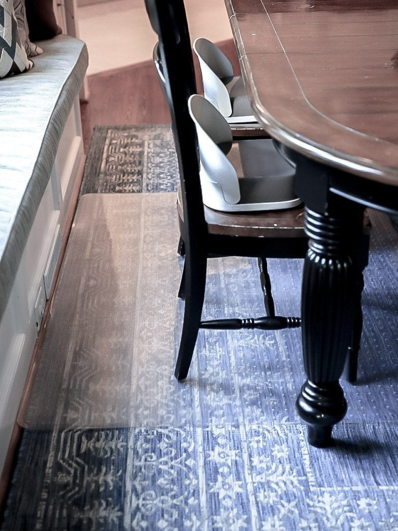 Under Dining Table Mat