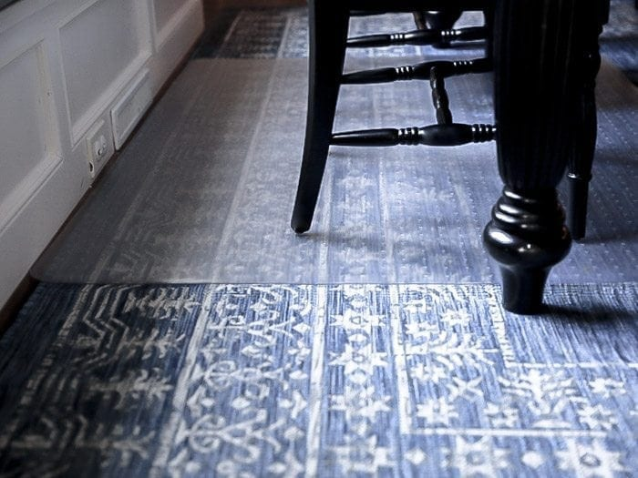 nearly seven years later im actually in the process of buying a new kitchen table and rug yay in the meantime do you have any hints for how you keep - Plastic Carpet Mat For Dining Room
