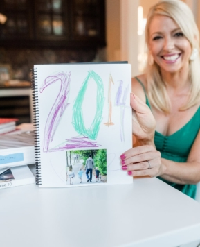 easy memory book for your family!