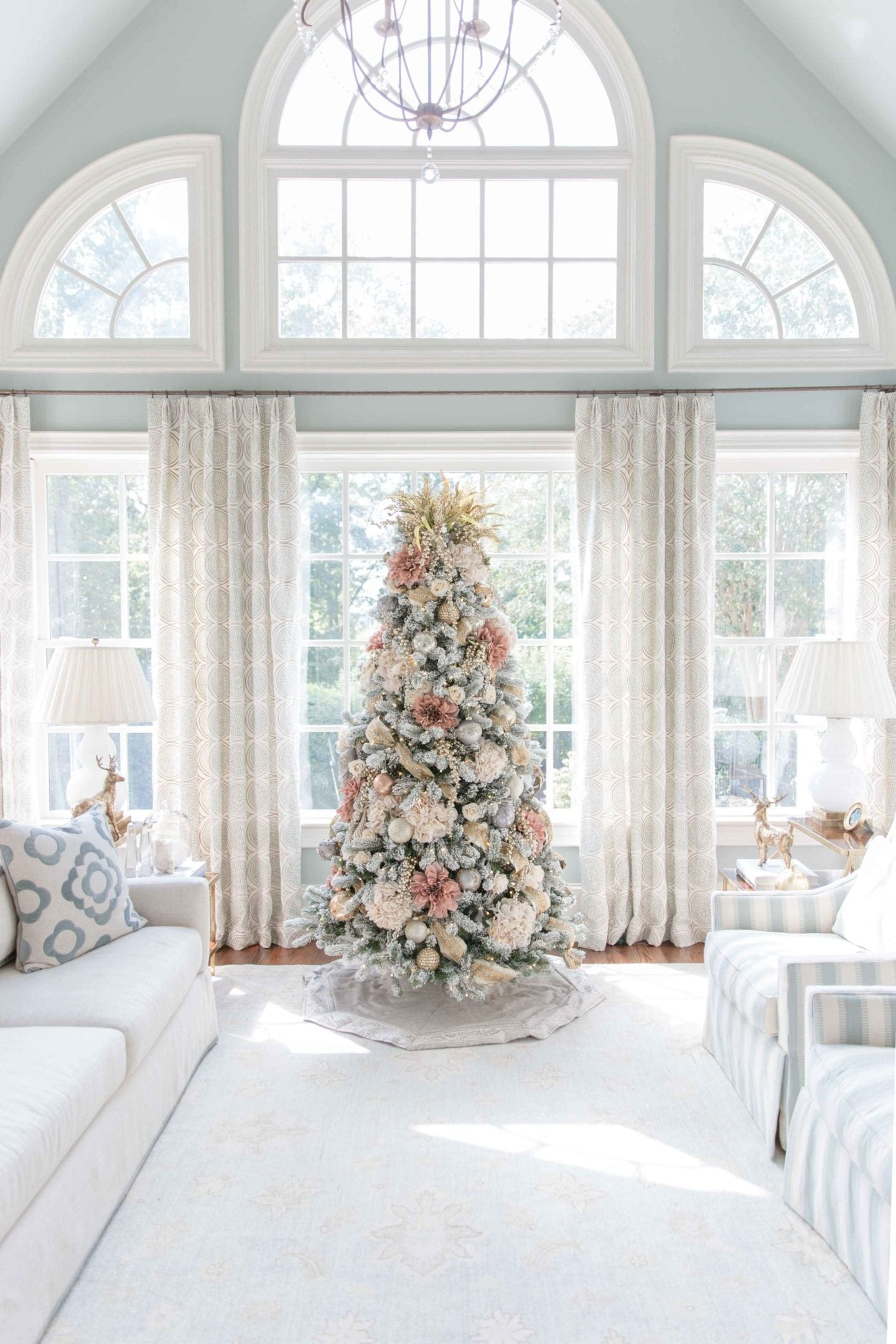 4 Ways To Decorate Your Tree Using Christmas Tree Flowers Bluegraygal