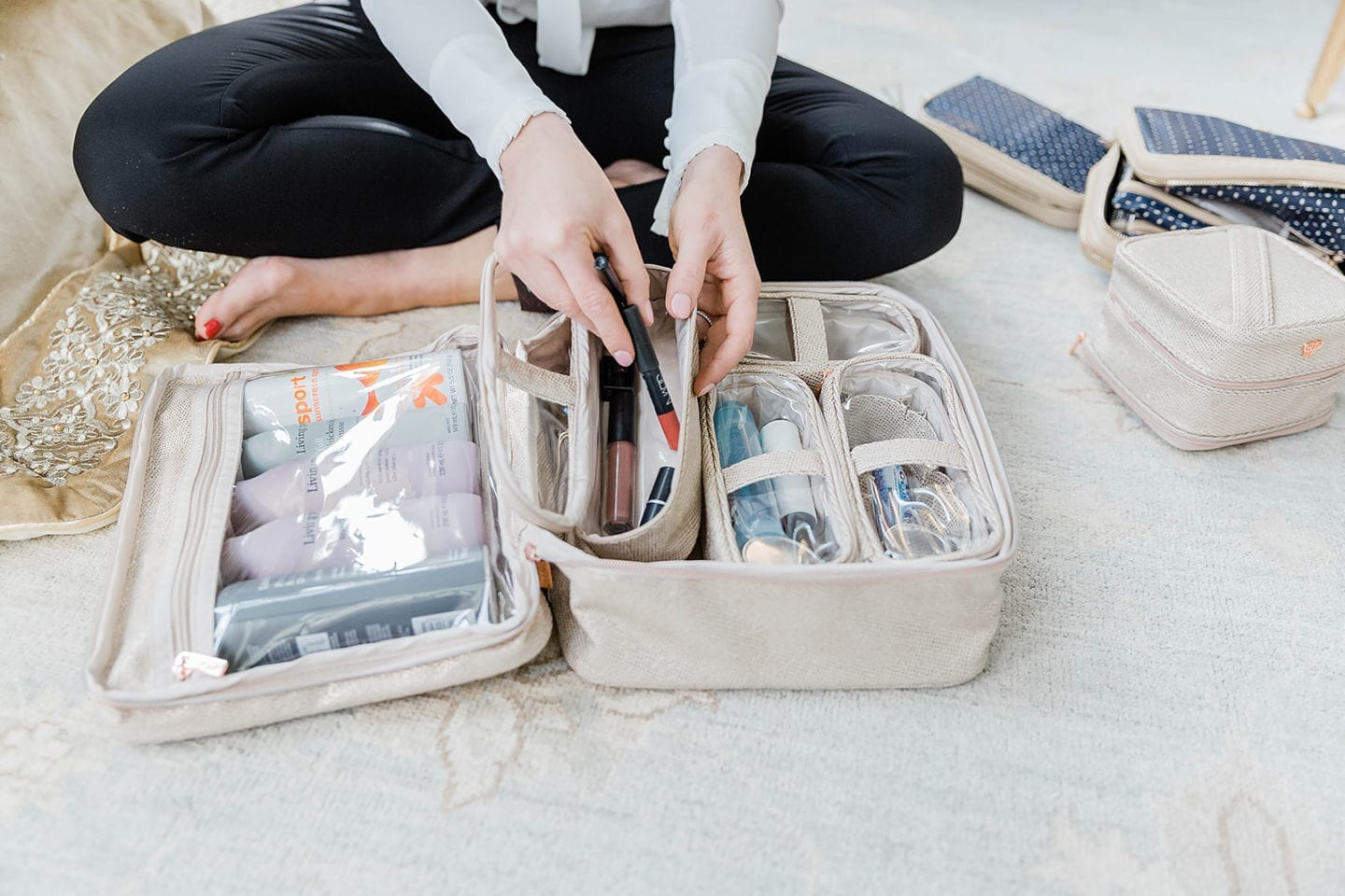 Travel cases the Kardashians use