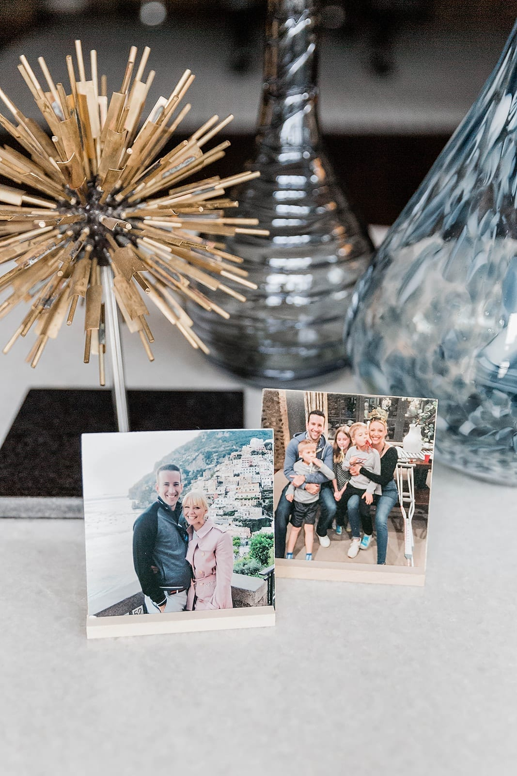A super cute way for birthday party photo display ideas. Cover your house with photos from Kodak Moments and then send the birthday person home with the memories!