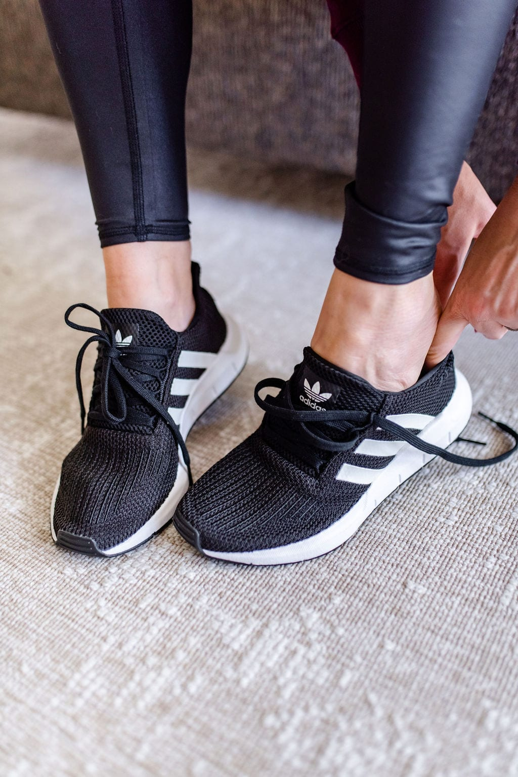 Adidas swift run sneaker womens.
