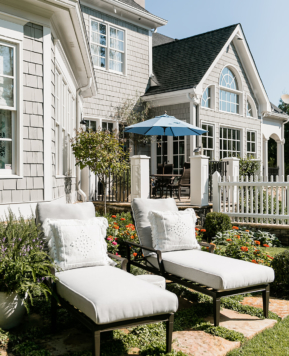 Outdoor Furniture Update with Woodard Furniture