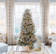 Gold Christmas Tree Decor