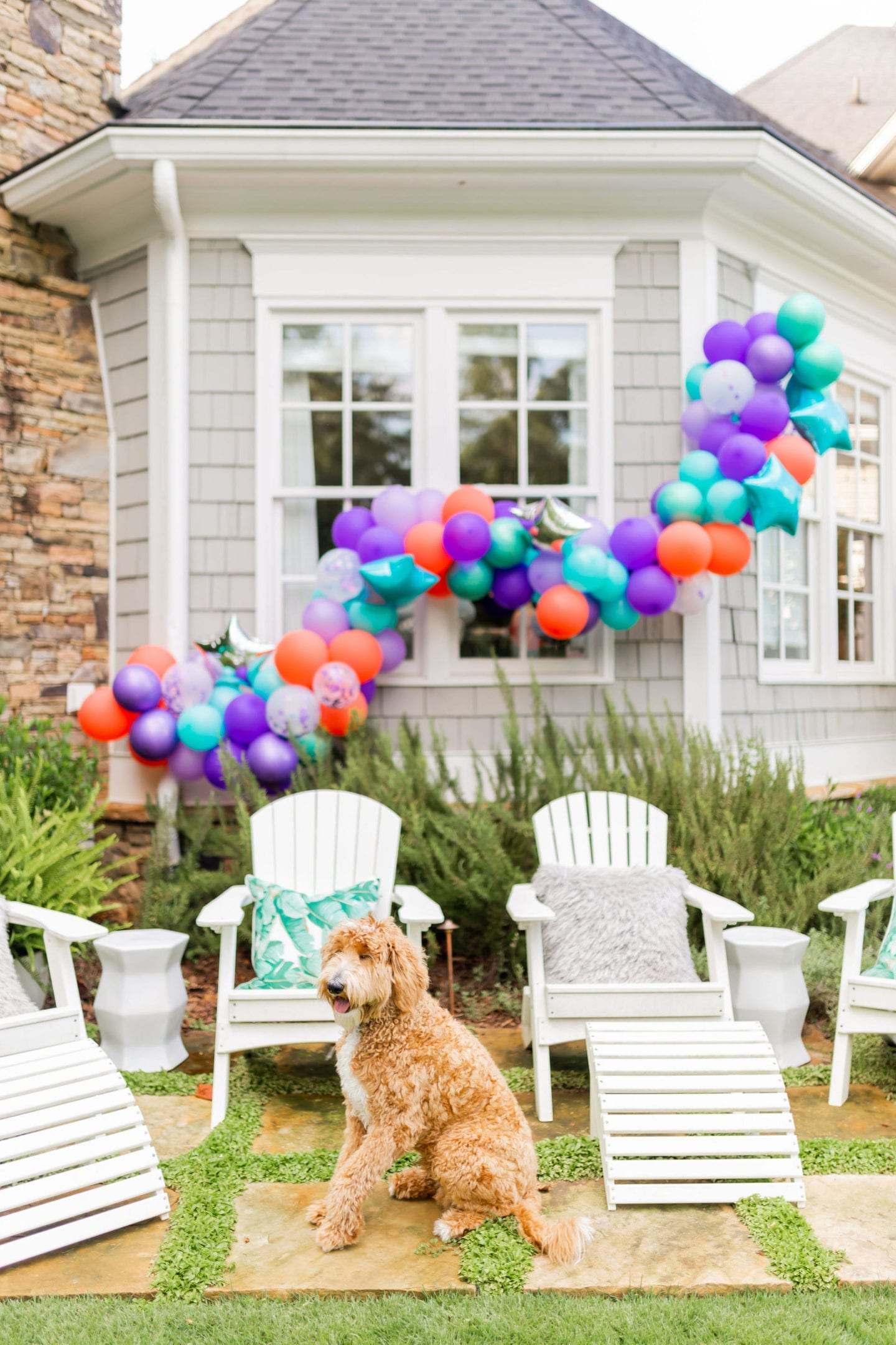 We threw a COVID surprise party for our daughter. To make it special we had awesome party balloon decorations! Sharing some fun balloon decoration ideas! I've linked everything used here for the balloon garland kit and a DIY balloon garland fun-filled party!