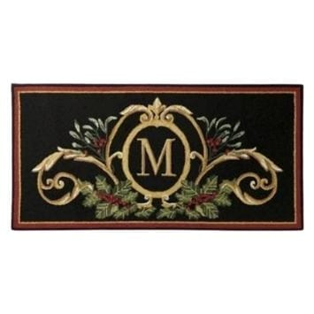 Christmas Front Door Mat