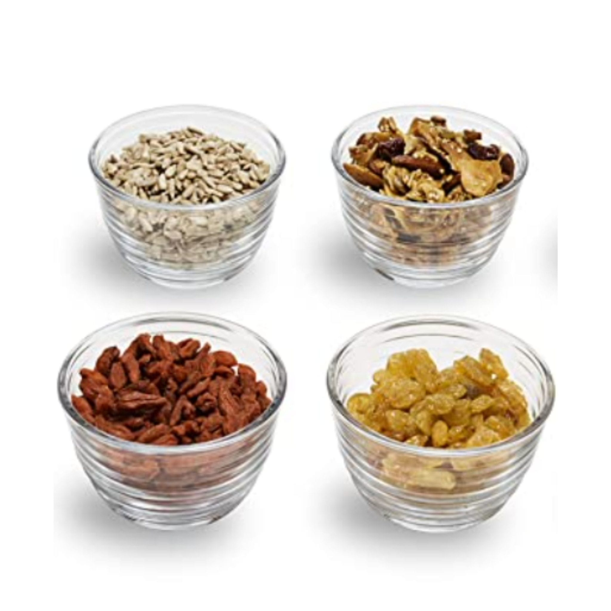 Small Glass Bowls with Lids