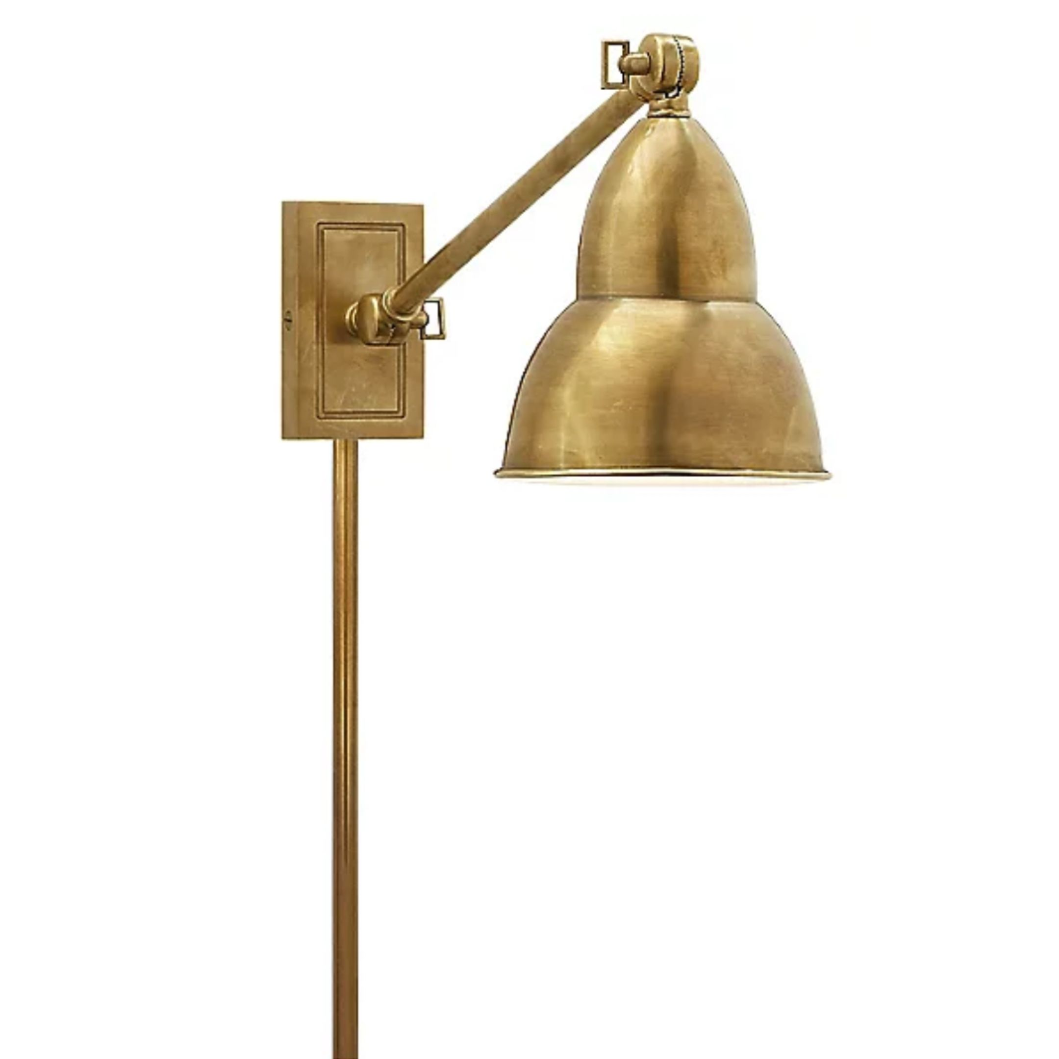 Gold Library Sconces